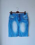 Idealna spódniczka z jeansu M...