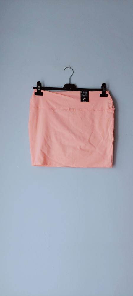 Idealna nowa łososiowa pomarańczowa spódniczka...