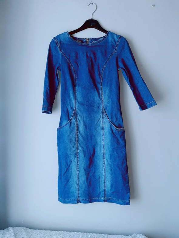 Idealna sukienka z jeansu...