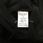 Czarna bluza z kapturem Calvin Klein