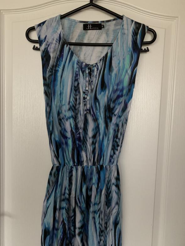 Letnia długa sukienka 36