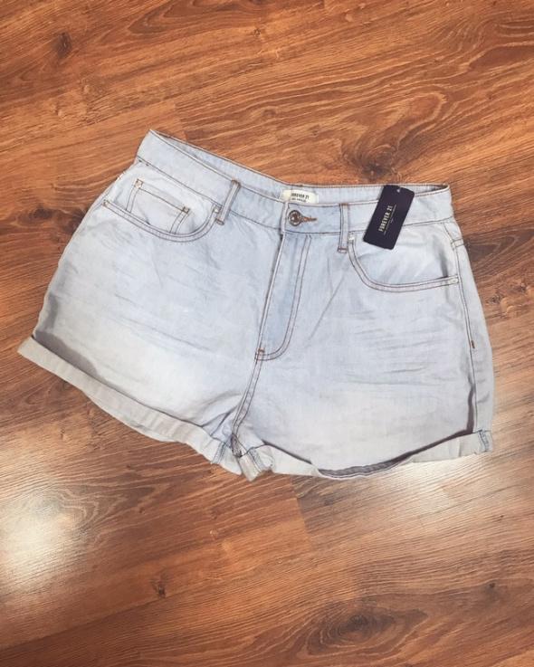 Nowe spodenki jeans L XL
