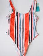 Strój Kostium Kąpielowy NOWY Paski XS 34 New Look...