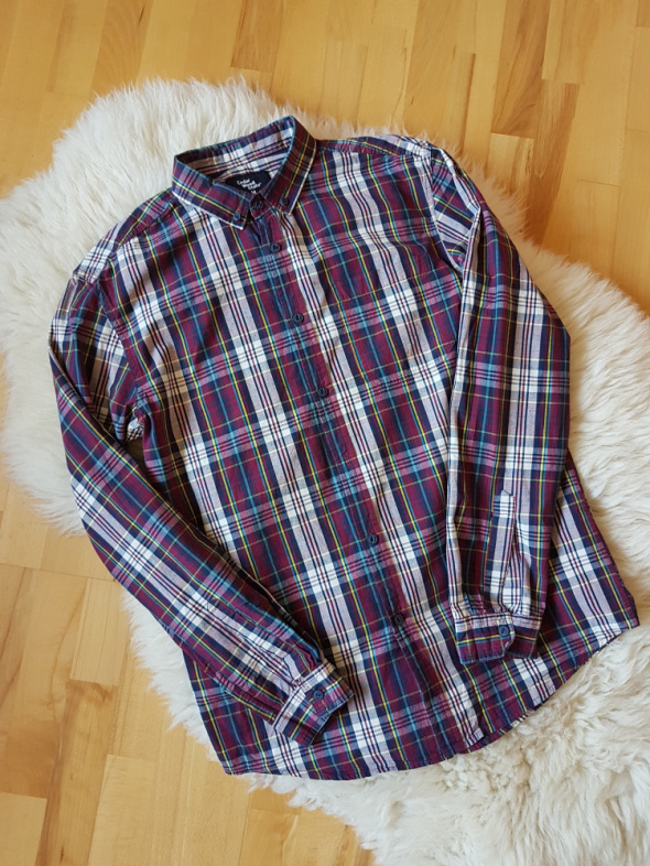 Męska koszula w kratę Cedar Wood State M
