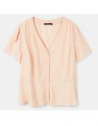 Nowa bluzka Mango top XL 42 XXL 44 łososiowa cieliska na lato k...