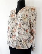 Przewiewna bluzka w kwiaty Reserved 44