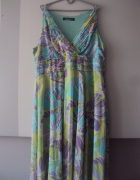 pastelowa sukienka maxi...