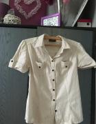 Koszula w paski sportowa M L...