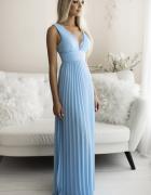 Piękna ekskluzywna plisowana sukienka S M L kolory...