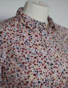 Nowa koszula w kwiaty kremowa rozmiar L...