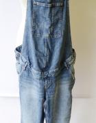Ogrodniczki Jeansowe H&M Mama 46 3XL Ciążowe Ciążą Dzinsowe...