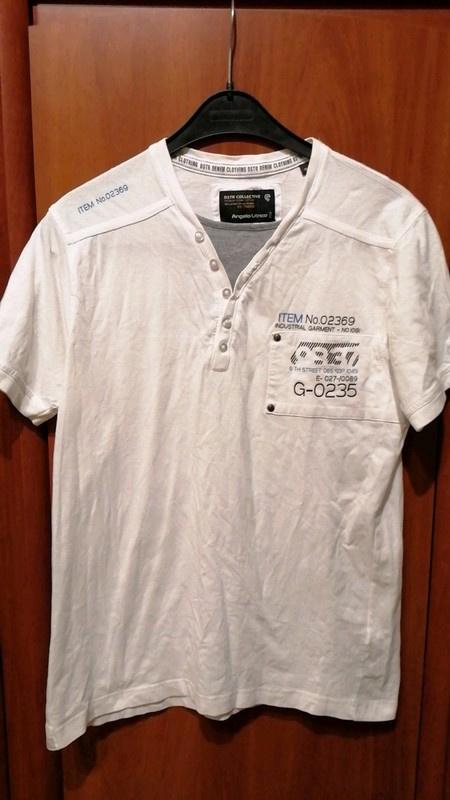 Tshirt Męski Biały Nowy Angelo Litrico M