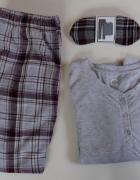 komplet zestaw 3 elementy piżama CUBUS xs 34 bawełna...