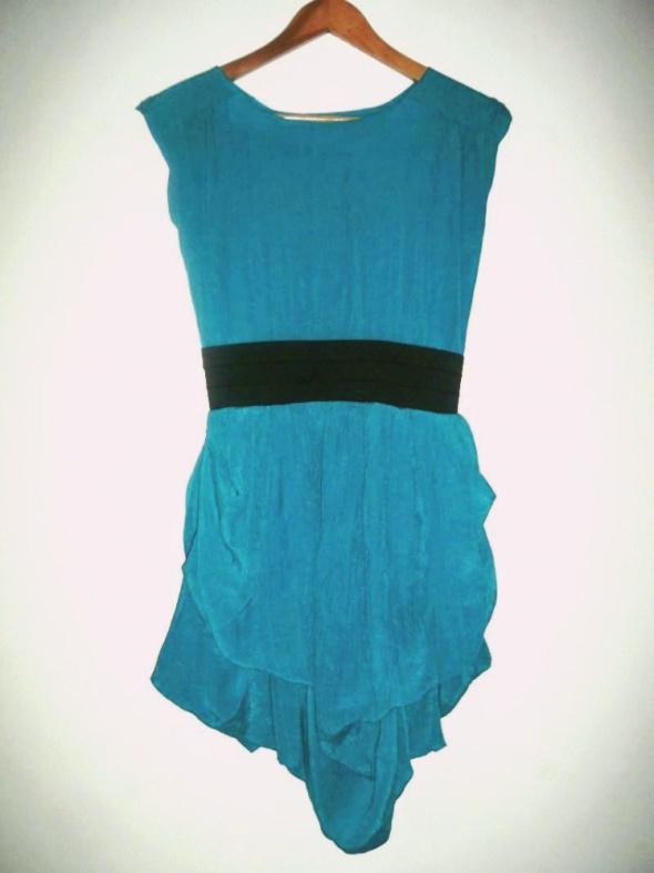 Niebieska sukienka Atmosphere Primark bombka vintage...