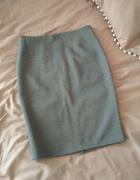 ołówkowa klasyczna szara spódnica XS S...