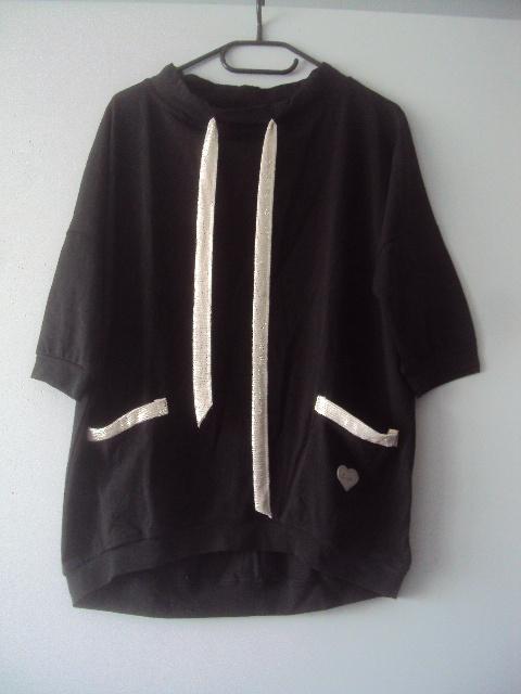 nowa bluzka z kieszonkami...