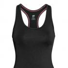 CZARNY TOP SPORTOWY H&M XS 34 SPORT FITNESS BIEGANIE TRENING bokserka koszulka