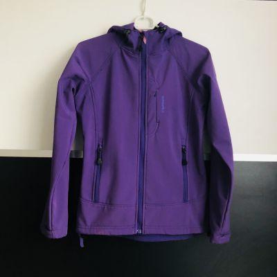 Odzież wierzchnia filetowa kurtka STROMBERG 14 lat xs 34 soft shell Norwegia góry rower kaptur
