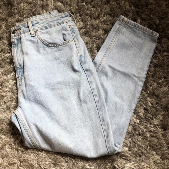 Mom jeans Topshop wysoki stan...