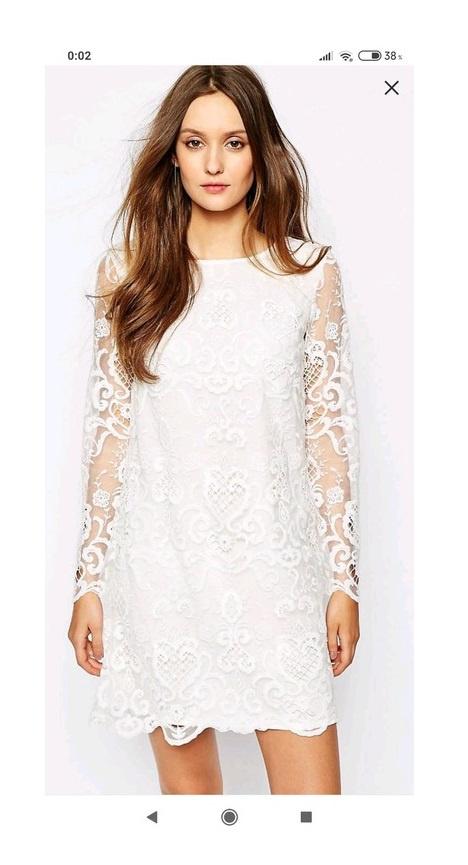 Krótka koronkowa sukienka ASOS