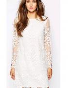 Krótka koronkowa sukienka ASOS...
