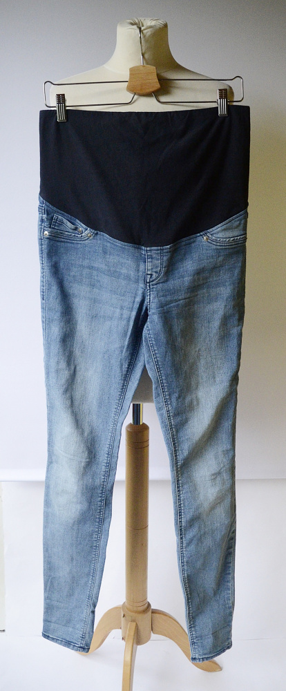 Spodeni Tregginsy H&M Mama XL 42 Super Skinny Dzinsowe Jeans...