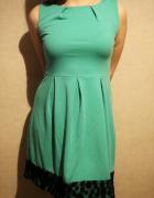 Zielona sukienka koktajlowa Miss...