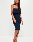 Sukienka na jedno ramię z troczkiem rozmiar XS...