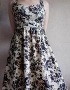 Letnia sukienka w kwiaty Papaya M...