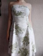 Biała letnia sukienka w polne kwiaty Ruby Rox S...