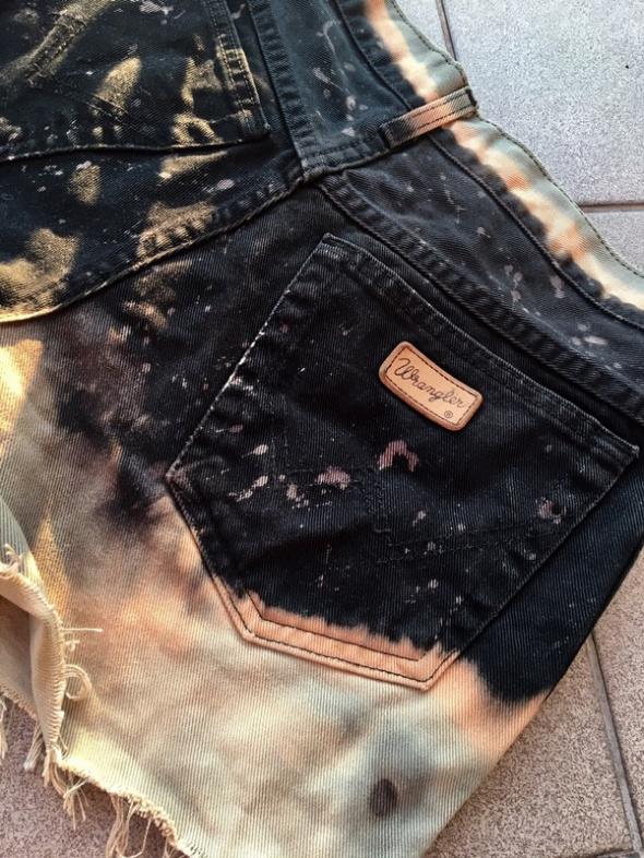 Wrangler szorty jeans wysoki stan...