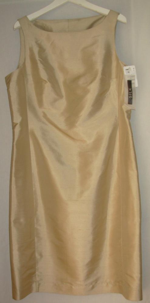 Jedwabna sukienka HENNES HM 44
