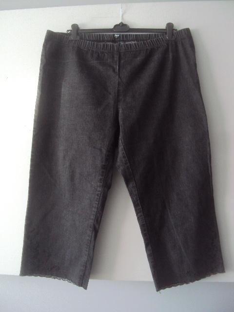 Spodenki jeansowe czarne rybaczki