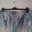 jeansowe szoty z przetarciami