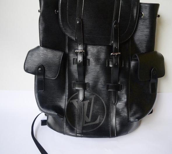 Plecak Czarny Unisex Louis Vuitton LV Supreme XXL