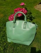 Duża zielona torba Shopper