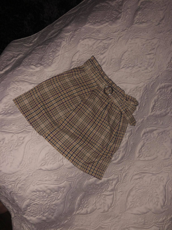Spódnica w kratę...