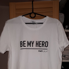 Nowa koszulka Plny Lala Be My Hero White M