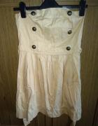 Sukienka na wzór militarny francuski...