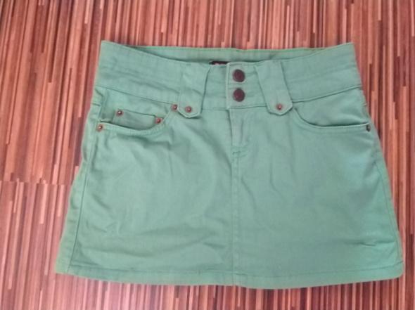 Zielona spódniczka Denim Co mini