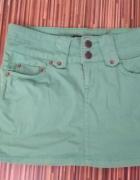 Zielona spódniczka Denim Co mini...