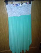 Sliczna sukienka S M...