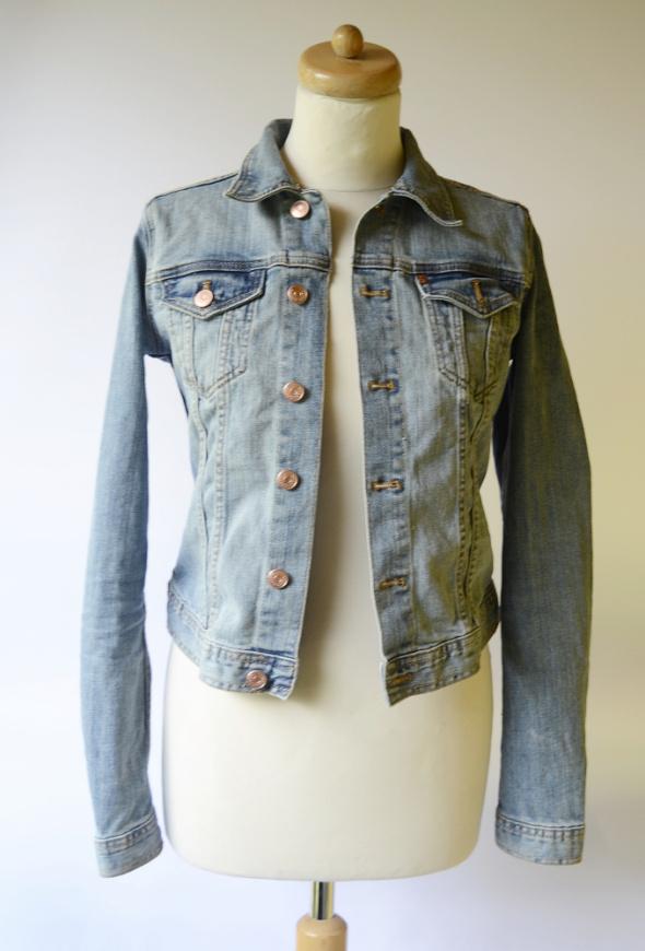 Kurtka Katanka Dzinsowa H&M S 36 Jeans Dzins...