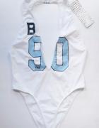 Strój Kąpielowy Biel NOWY 44 XXL Majestic Baseball...