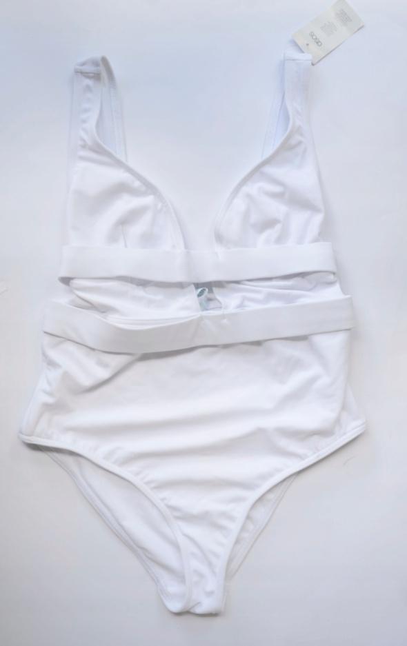 Strój Kostium Kąpielowy Biały ASOS 75G NOWY Sexy
