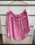 Bluzka różowa hiszpanka 48...