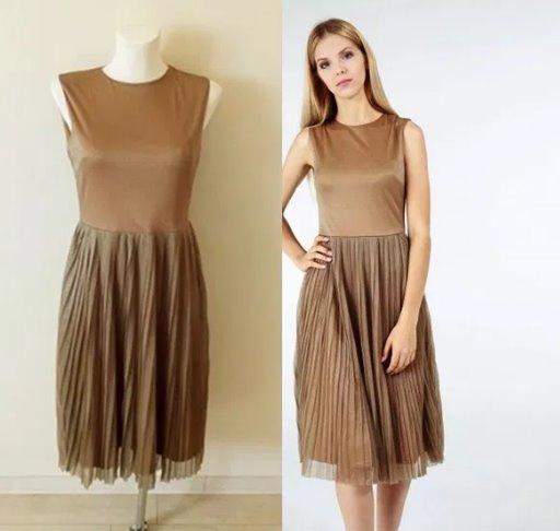 Sukienka nowa z metką midi plisowana...