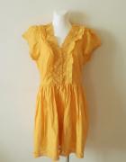 Sukienka nowa z metką letnia lekka krótka do kolan na lato zwie...