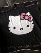 Sanrio Hello Kity koc polarowy czarny 125 x 150 cm stan BDB