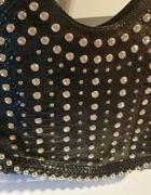 Luksusowa torebka bogato zdobiona